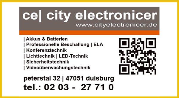 SPONSOREN city electronicer