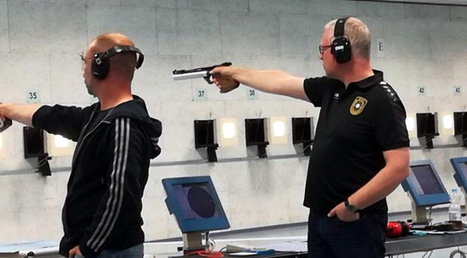 LVM Luftpistole – Zwei Bergheimer landen im Mittelfeld
